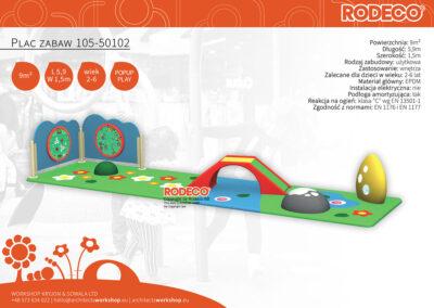Plac zabaw 105-50102