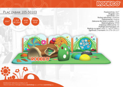 Plac zabaw 105-50103