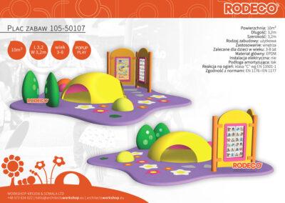 Plac zabaw 105-50107