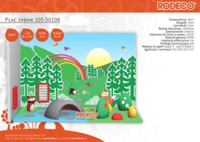 Plac zabaw 105-50108
