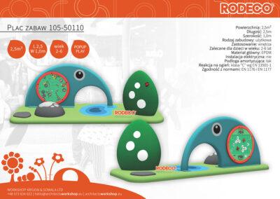Plac zabaw 105-50110