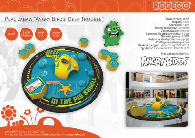 """Plac zabaw """"Angry Birds: Deep Trouble"""""""