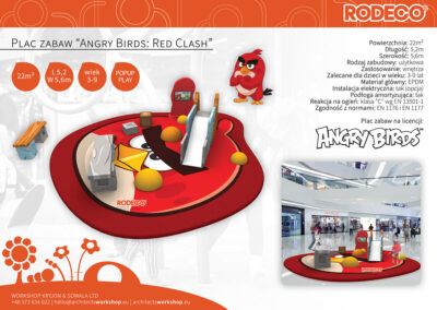 """Plac zabaw """"Angry Birds: Red Clash"""""""