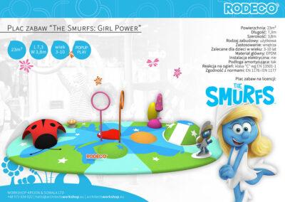 "Plac zabaw ""The Smurfs: Girl Power"""