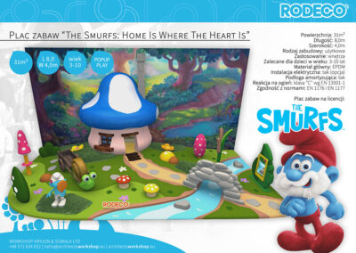 """Plac zabaw """"The Smurfs: Home Is Where The Heart Is"""""""
