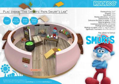 "Plac zabaw ""The Smurfs: Papa Smurf's Lab"""