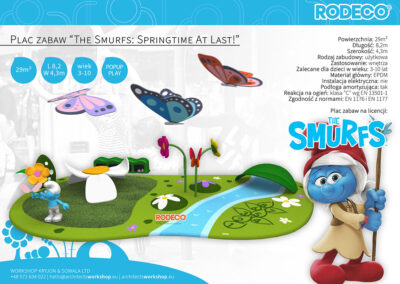 """Plac zabaw """"The Smurfs: Springtime At Last!"""""""