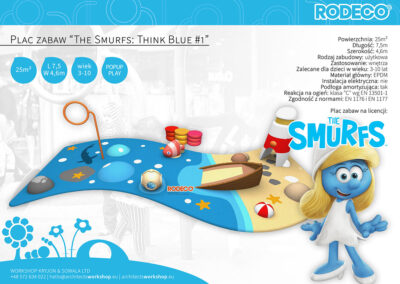"Plac zabaw ""The Smurfs: Think Blue #1"""