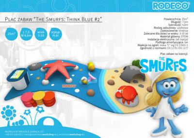 "Plac zabaw ""The Smurfs: Think Blue #2"""